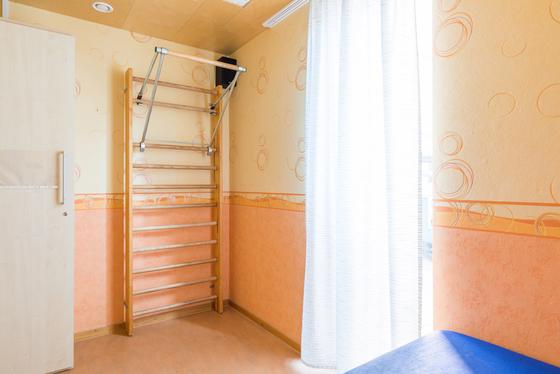 Therapieraum im Seniorenhaus Dr. Pieke-Str.