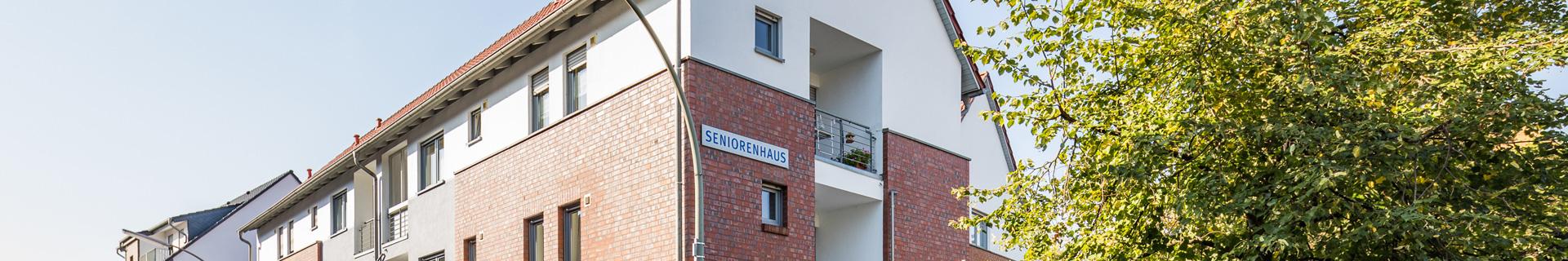 Außenansicht des Seniorenhauses